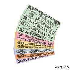"""Bible Bucks"" Awesome reward for Memory verses, good character, etc!"