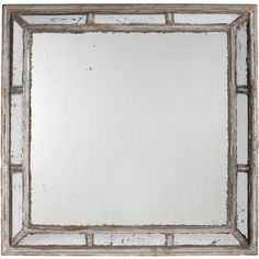 Giant Wall Mirror found it at wayfair - coastal weathered gray wall mirror