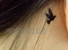 Little swallows birds - InknArt Temporary Tattoo wrist quote tattoo body sticker fake tattoo wedding tattoo small flybird flying bird