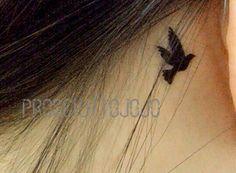 Little swallows birds - InknArt Temporary Tattoo wrist quote tattoo body sticker fake tattoo wedding tattoo small flybird flying bird