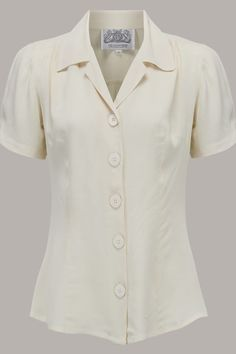Beautiful vintage style... the Grace blouse www.TheSeamstressOfBloomsbury.co.uk