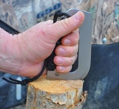 Farson Blade Survival Tool This blade is a compact, light, versatile tool that can be used to chop kindling, be made into a hatchet, skin process a large animal and even chop up your onions for dinner. It fits in your pack and could save your life.