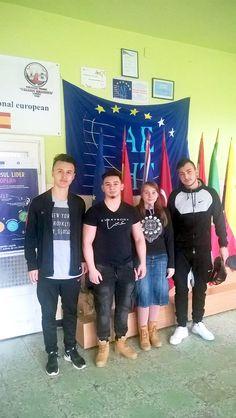 Liceeni brănişteni - lideri europeni