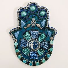 Fun Fact: ornament in the sorta-center is a ceramic glazed button that I've had since the Wild, right? Just SOLD! Birth Certificate Form, Angel Prayers, Mosaic Wall Art, Fun Facts, Mixed Media, Meditation, Ceramics, Christmas Ornaments, Holiday Decor