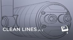 Clean Lines pt. 2 - In pt. 1 I showed you the basics of creating clean straight and curved lines in photoshop. This video shows a sample workflow: creating a mechanical prop using the techniques introduced in the previous lesson. ★    CHARACTER DESIGN REFERENCES • Find us on www.facebook.com/CharacterDesignReferences and www.pinterest.com/characterdesigh    ★