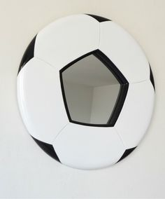 FOOTBALL CRAZY - how about a funky Football mirror for in your bathroom?