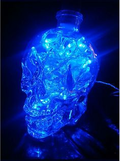 Blue skull light