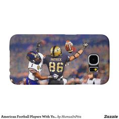 American Football Players With Your Name Painting Samsung Galaxy S6 Cases
