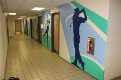 The giant Ben Franklin Super Dome on Greenbank had the typical bare concrete walls. Well Mural Magic took care of that problem with some hand painted murals. Mural Painting, Ottawa, Hand Painted, Concrete Walls, Business, Golf Tips, Murals, Inspiration, Soccer