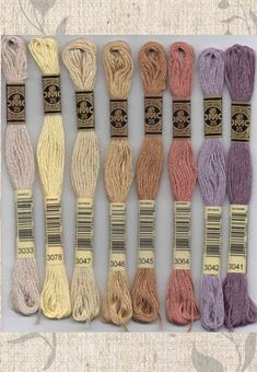 DMC Six-Stranded embroidery floss - 3000 series for Sale – Raspberry Lane Crafts