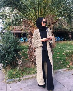 Neutral hijab outfit ideas – Just Trendy Girls