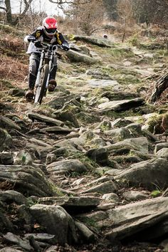 so this is Gethin or as its now know Bike Park Wales you thought the rock gardens are gnarly now? well this was the old rock garden when it was just a little old DH race venue, you would hit this garden at mach10 never workout how you stayed on and got grip! #gethin #bpw #mtb #bikeparkwales