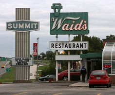 Waid's Restaurant in Lee's Summit, MO.  This is where I met my incredible husband.  He was my boss and my hero - still is today!