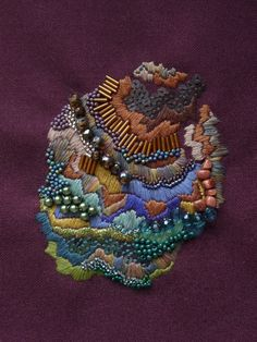 Anna Jane Searle embroidery and beading