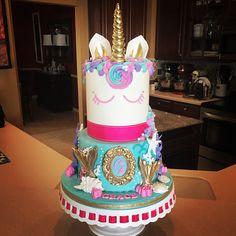 Mermaid/Unicorn Birthday!!! #mermaids #mermaidcake #mermaidsandunicorns #mermaidunicorncake #unicorns #buttercream #fondant #caljava #satinicefondant #cakeart #confetticake #stpete #stpetebeach #tampa #tampabay #florida #orlando #sarasota #bradenton #eatcakeforbreakfast #jrussellcakes