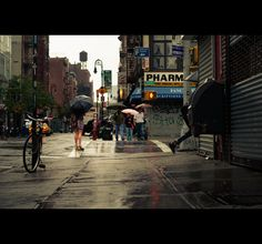 New York by Julien Coquentin, via Behance