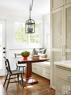 "Stay away from super whites. ""Always look for something with a little gray or cream in it,"" Elaine says. ""You'd be surprised how much color you can add to pure white and still have it read as white on the wall."""