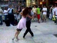 Argentine Tango Street Dancers - YouTube