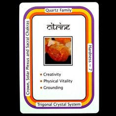 """CITRINE--warms, cleanses, and energizes and it is a great tool for transmuting negative energy. Citrine heightens self discipline and will, attracting professional success and wealth. It has been called """"the merchant's stone"""", and can be placed in a cash box or drawer, or in the far-left corner, or """"wealth corner"""", of the home, to attract abundance. Carry Citrine in the purse or pocket as a general good-luck stone."""