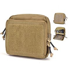 Reebow Gear Tactical Admin Pouch EDC Molle Military Bag Organizer Tan -- Want to know more, click on the image. This Amazon pins is an affiliate link to Amazon.