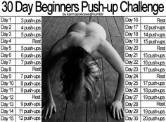 Amber's Journey to Healthfulness: June - 30 day push-up challenge - Day 15