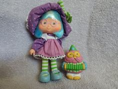 Strawberry Shortcake VERY RARE  Plum Puddin' with by LABlues, $125.00