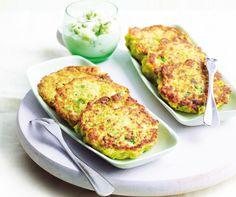 Recept: Bloemkoolfrittata's met tzatziki | Gezond Eten Magazine