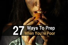 While it's true that stocking up on supplies costs a lot, that's no reason to give up on prepping. There are many ways to prep, even if you're poor.