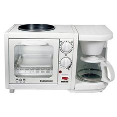 Better Chef Breakfast Central 3 In 1 Meal Maker White Mega Goods Http Www Amazon Com Dp B00hm7orrq Ref Cm Sw Best Chef Breakfast Maker Coffee Maker Reviews