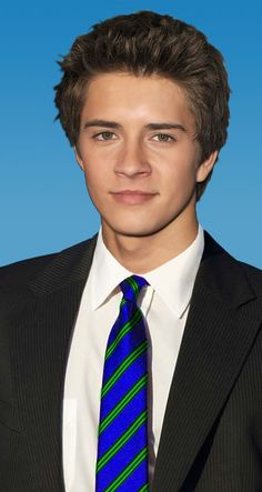 Billy Unger in his fraternity tie