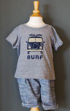 Milk and Honey Kids Surf T-Shirt - milk and honey baby