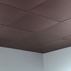 Fasade Square Argent Bronze 2-foot Square Lay-in Ceiling Tile