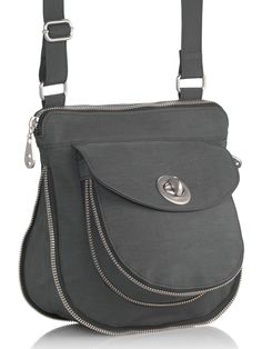 #baggallini amsterdam crossbody with hidden gussets that expand when life gets full. #baggspiration
