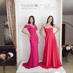 Вечерние платья Pronovias в свадебном салоне #FashionBride