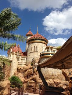New Fantasyland- Prince Eric's Castle: Journey of the Little Mermaid ride
