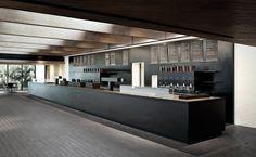 Space Copenhagen / Louisiana Museum of Modern Design Bar Interior, Restaurant Interior Design, Interior Exterior, Modern Interior Design, Interior Architecture, Interior Decorating, Architecture Posters, Bauhaus, Museum Cafe