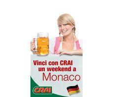 Vinci weekend a Monaco con CRAI - http://www.omaggiomania.com/concorsi-a-premi/vinci-weekend-monaco-crai/