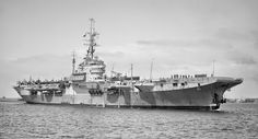 HMS Glory, a Colossus class Aircraft Carrier, built by Harland & Wolff, Belfast & commissioned 02/04/45. Carrying 837 NAS(Barracudas) & 1831 NAS(Corsairs) she arrived in Far East to join 11th Aircraft Carrier Squadron just as the war was ending. Placed in reserve in '49 she was returned to service in December '50 and served three deployments  off Korea. Decommissioned in '56, she was sold for scrap to Thomas W.Ward of Inverkeithing in '61