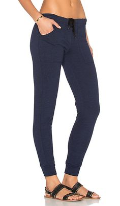 MONROW Pocket Sweatpant in Navy Blue | REVOLVE