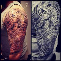 unique Warrior Tattoo | I want Tattoo