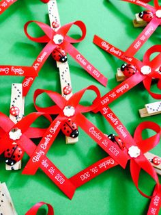 Favors Ideas For Ladybug Baby Shower