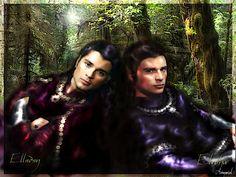 The Twins are looking nice tonight. Elladan and Elrohir by ArmarielRoZita on deviantART