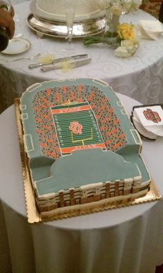 Grooms Cake By Icing On The Top One Of Our Package