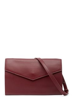 $139.97  Steven Alan Easton Envelope Leather Crossbody Bag
