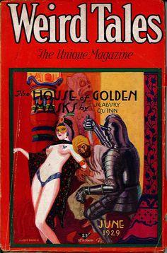 Weird Tales – Page 3 – Pulp Covers Pulp Magazine, Magazine Art, Magazine Covers, Sci Fi Books, Comic Books, Pulp Fiction Kunst, Comics Vintage, Horror Fiction, Science Fiction Books