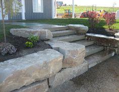 natural stone retaining walls | Natural stone retaining Wall.