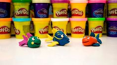 Play Doh Fish. Play Doh Fish by Funny Socks!