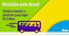 Publicado originalmente no sitehttp://www.bestyle.com.br/life/2014/11/mochilao-pelo-brasil– no dia 03/11/2014–Mirella Fonzar Horário de verão, dias quentes e de céu azul sempre estimulam as pessoas a se programarem para um dia ao ar livre, para praticar esportes, curtir com amigos e família, e também para as famosas viagens de finais de semana. É possível viajar de ônibus por menos …