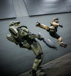 Become a member of the Halo community. Halo Cosplay, Best Cosplay, Rooster Teeth, Halo Armor, Halo Spartan, Halo Master Chief, Future Weapons, Achievement Hunter, Future Soldier