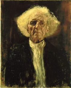 Gustav Klimt – El Ciego (1896)